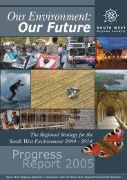 Progress Report - South West Regional Assembly
