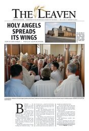 Holy aNgels spreads its wiNgs - The Leaven