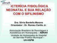 SIFILINISMO - Associação Brasileira de Reciclagem e Assistência ...