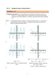 10.1.4 Spojitost funkce, limity funkce II - Realisticky cz