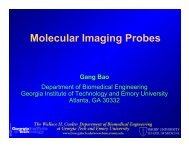 Molecular Imaging Probes