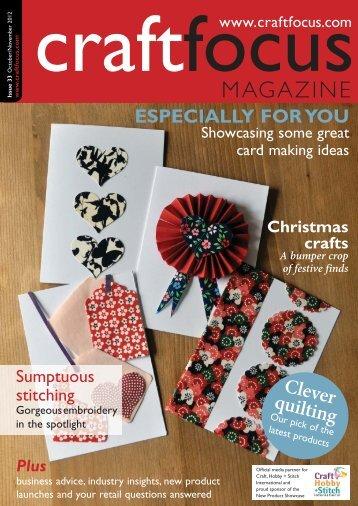 PDF: High-resolution (30Mb) - Craft Focus Magazine