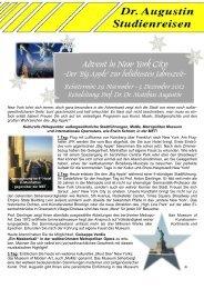 Advent in New York City - Der Big Apple zur beliebtesten Jahreszeit