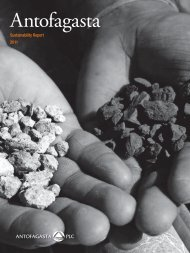 Sustainability Report 2011 - Antofagasta plc