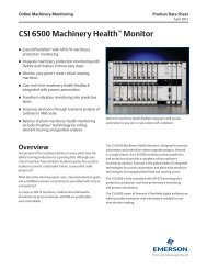 CSI 6500 Machinery Health™ Monitor - PCMS Engineering