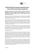 Perfil del Barcelona Supercomputing Center – Centro Nacional de ... - Page 2