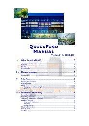 Guide QuickFind EN CESE 2.1 final - Members' Portal - Europa