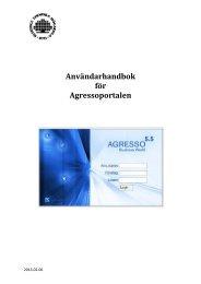 Användarhandbok för Agressoportalen