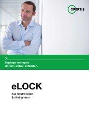 eLOCK – das elektronische Schließsystem - Opertis GmbH
