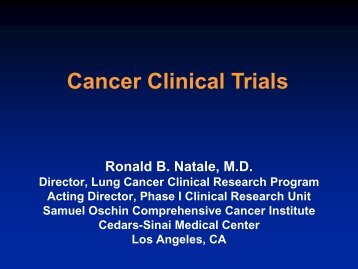 Cancer Clinical Trials - Caring for Carcinoid Foundation
