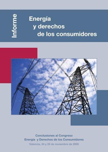 Conclusiones del Congreso Energía y Derechos de los ... - Cecu