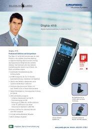 Digta 415 - Gruber Franz GmbH