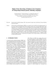 Higher-Order Rewriting of Model-to-Text Templates for Integrating ...