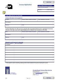 Access application (PDF)