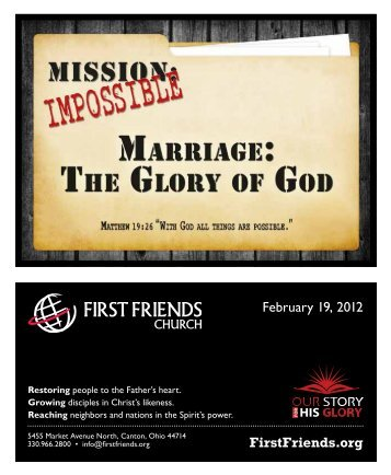 February 19, 2012 - First Friends Church