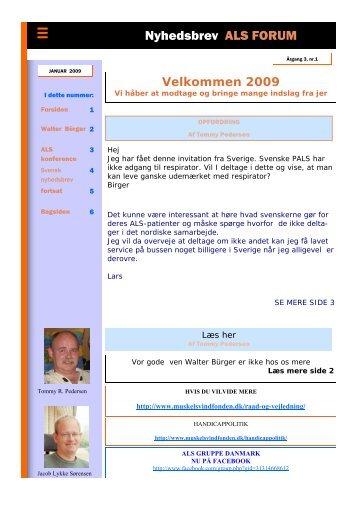 januar 2009 - ALS Gruppen Vestjylland