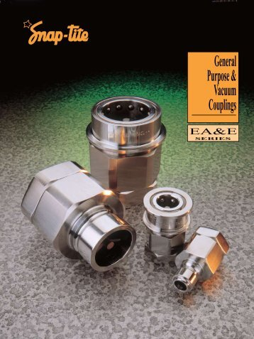 General Purpose & Vacuum Couplings - Winco