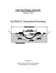 CSS National Dialog - Slopes IV Handout - (CSS) National Dialog 2