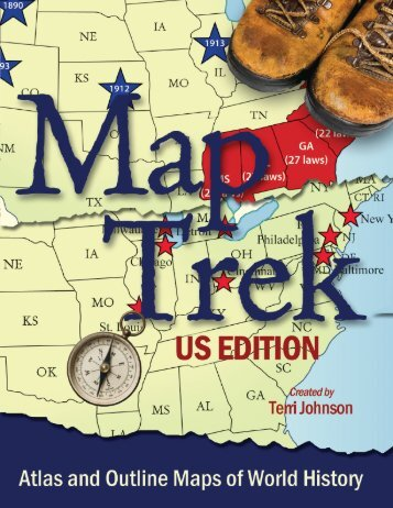 Map trek samplerdd knowledge quest atlas and outline maps of world history knowledge quest sciox Images