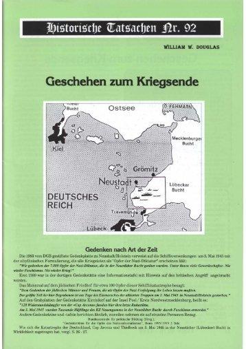 Historische Tatsachen Nr. 92 - Unglaublichkeiten.com