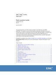 Configuring VNX User Mapping - EMC