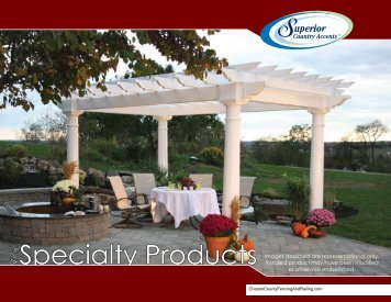 Vinyl Specialty Products - Chester County Fencing