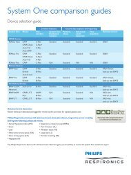 System One 60 Series CPAP Specifications (PDF) - Direct Home ...