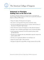 PDF 74 KB / 4 pages - Promoting Excellence in End-of-Life Care