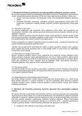 """""""Nordea"""" pavedimų vykdymo politika - Nordea Bank Lietuva - Page 2"""