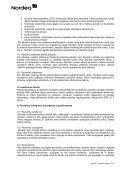 """""""Nordea"""" pavedimų vykdymo politika - Nordea Bank Lietuva - Page 3"""