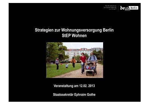 Strategie Wohnen in Berlin