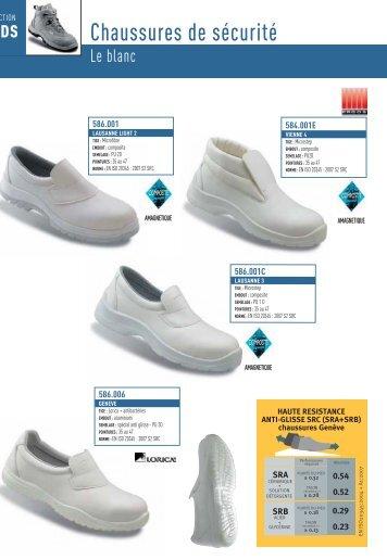 Chaussures de sécurité - Groupe RG