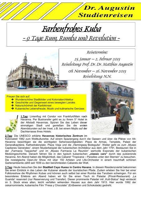 Farbenfrohes Kuba - 9 Tage Rundreise