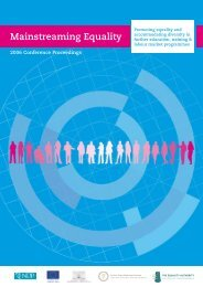 Mainstreaming Equality Conference Proceedings 2006 - European ...