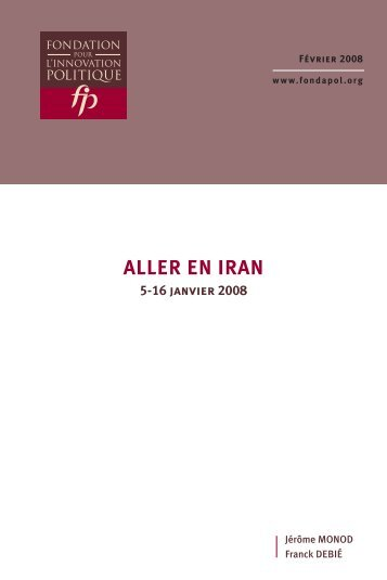 Aller en Iran - Iran Resist