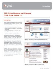GTSI Online Shopping and Checkout Quick Guide ... - GTSI Corp