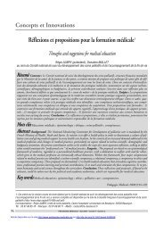 PDF (93.66 KB) - Pédagogie médicale
