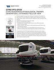 GYRO IPT3 EFOV - ETC Aircrew Training Systems