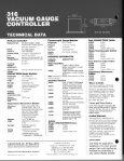 316 VACUUM GAUGE CONTROLLER - Page 4