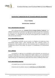 ESTATUTOS FUNDACIÓN RED DE COLEGIOS ... - CGCOM