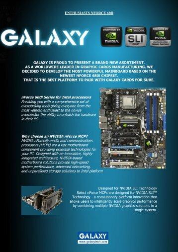 nForce 600i Series for Intel processors Providing you ... - TweakTown