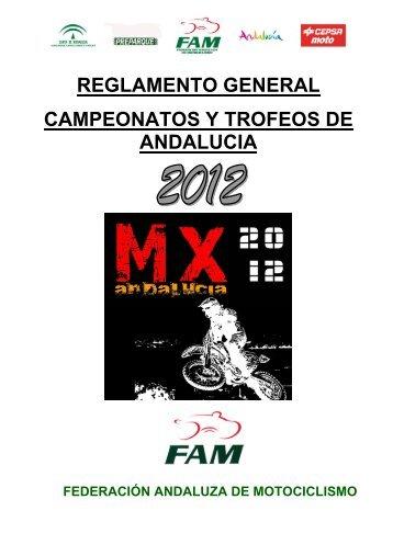 reglamento general campeonatos y trofeos de andalucia