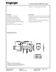 Features Package Dimensions T-1 3/4(5mm) BI-COLOR ...