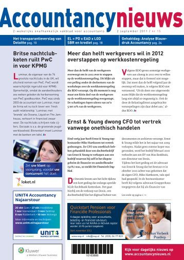 download nummer 15 hier - Accountancy Nieuws