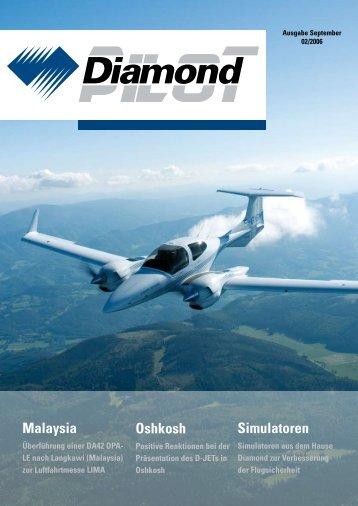 Malaysia Oshkosh Simulatoren - Diamond Aircraft