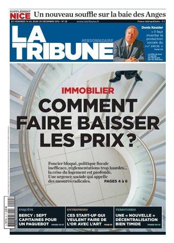 immobilier - La Tribune