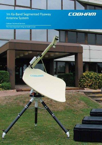 1m Ka-Band Segmented Flyaway Antenna System