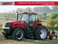 MAGNUM™ 180-210 SERIES TRACTORS - Case IH