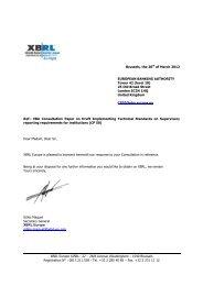 XBRL Europe - European Banking Authority - Europa