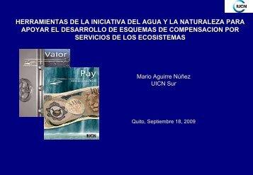 herramientas de la iniciativa del agua y la naturaleza para apoyar el ...